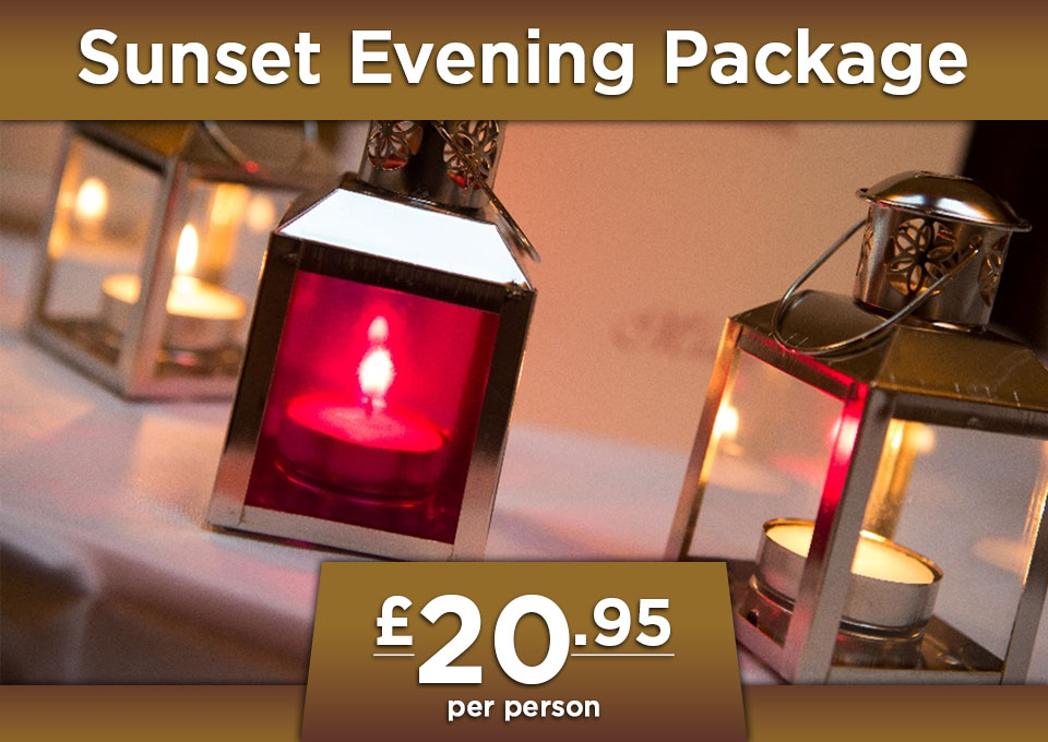 sunset evening package Glenavon House Hotel Cookstown