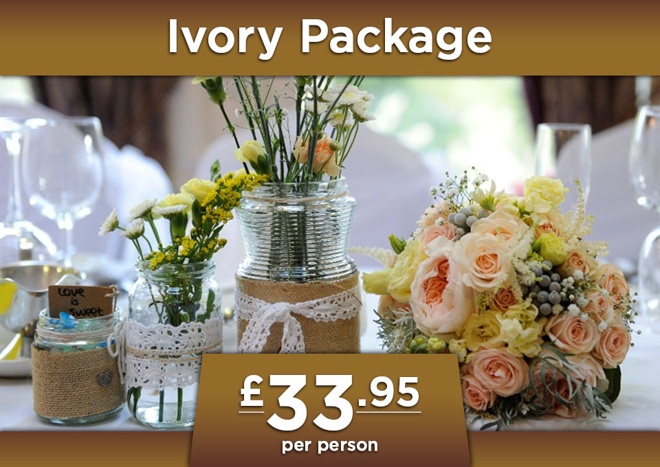 wedding ivory package at Glenavon House Hotel Cookstown