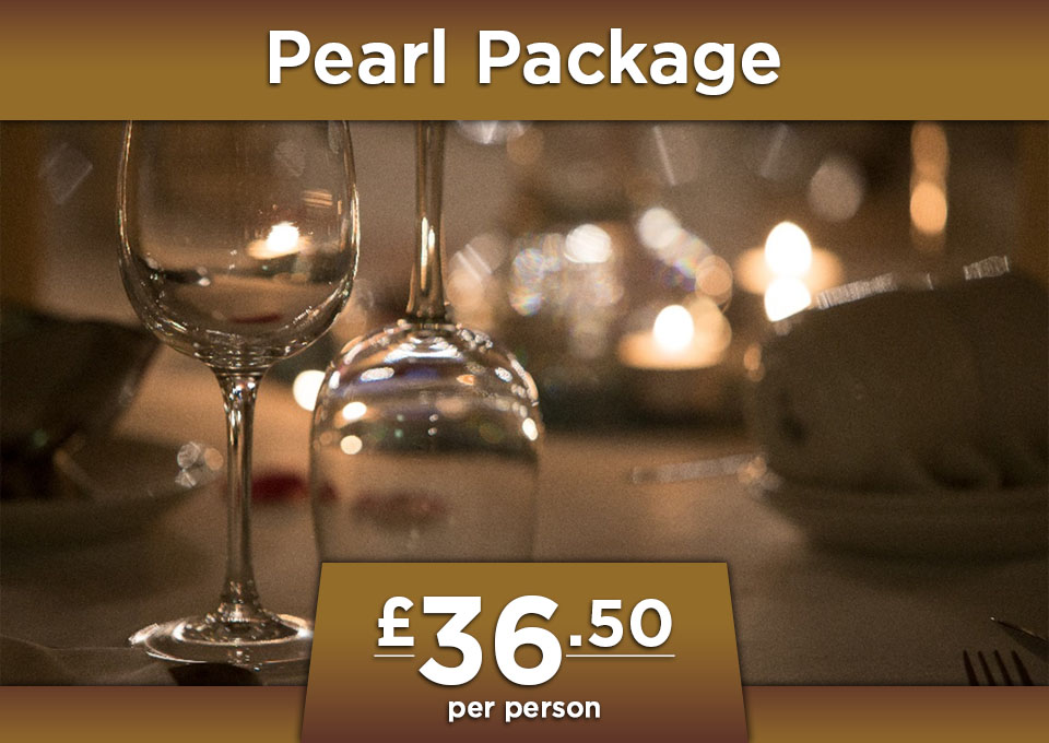 wedding pearl package at Glenavon House Hotel Cookstown