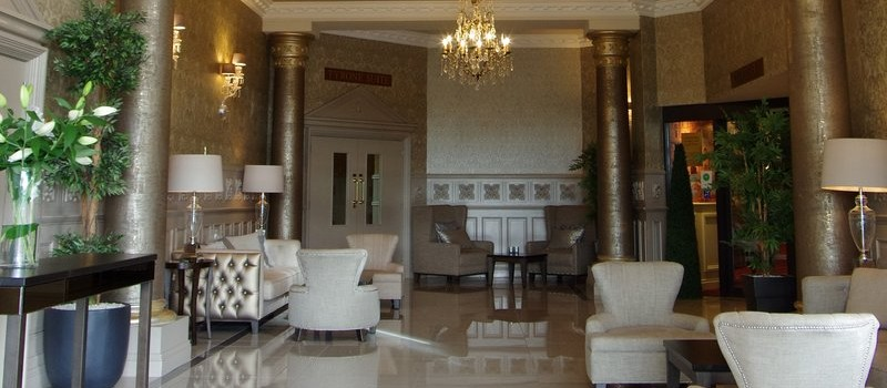 Entrance Foyer of The Glenavon House Hotel