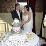 Bride & Groom at Glenavon House Hotel
