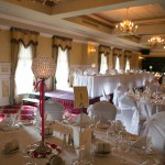 Wedding Reception Suites - Adair Suite banqueting suite