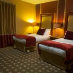Twin Bedroom at Glenavon House Hotel