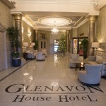 Glenavon Hotel Foyer at Christmas