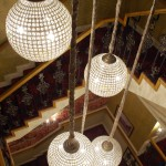 Chandeliers at Glenavon Hotel