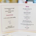 Wedding Menu at the Glenavon