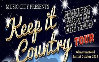Country Tour coming to Glenavon Hotel, Cookstown