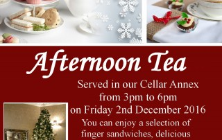 Christmas Afternoon Tea at Glenavon House Hotel, Cookstown